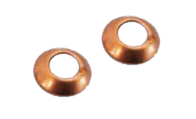 ' Conic copper washer for DN6 hose '