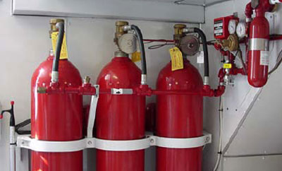 ' Fire extinguishing systems (CO2) '